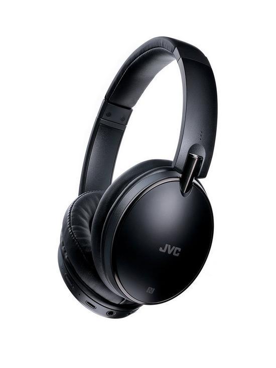 Jvc S90 Around Ear Bluetooth Premium Sound Headphones With Noise