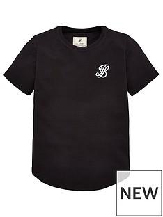 325ac7701a7ef Illusive London Boys Core Short Sleeve T-shirt - Black