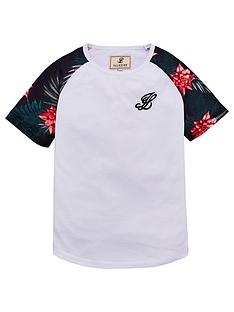 illusive-london-floral-raglan-short-sleeve-t-shirt-white