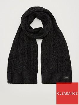 superdry-jacob-scarf-black