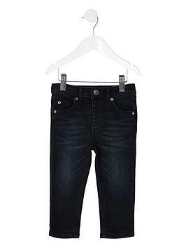 river-island-mini-sid-skinny-jeans-dark-blue