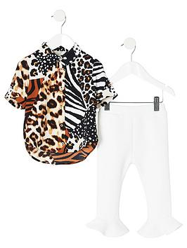 river-island-mini-mini-girls-animal-print-outfit-mono