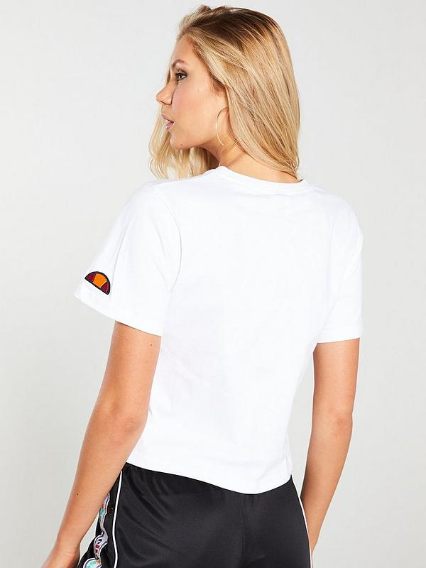 Ralia Crop T Shirt White