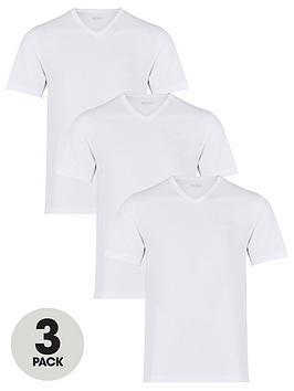 boss-bodywear-threenbsppack-v-neck-t-shirt-white