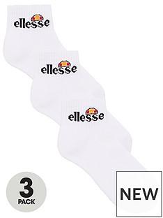 ellesse-sport-arrom-ankle-socks-3-pack