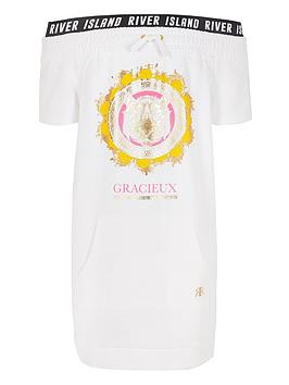 river-island-girls-white-tiger-print-bardot-t-shirt-dress