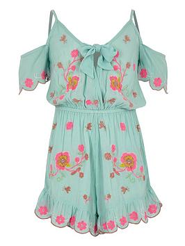 river-island-girls-floral-embroidered-beach-playsuit-blue