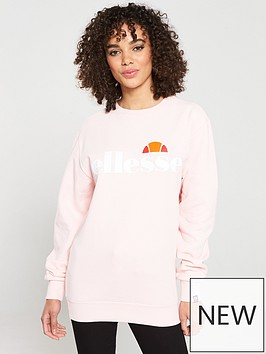 ellesse-agata-crew-sweatshirt-pinknbsp