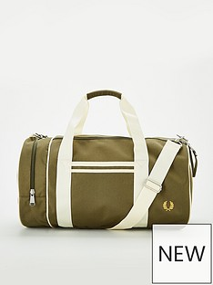 fred-perry-fred-perry-twin-tipped-barrel-bag