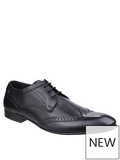 base-london-base-london-purcell-waxy-leather-lace-up-brogue-shoe