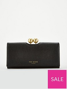 c1c9d854466 Ted Baker Josiey Textured Bobble Matinee Purse - Black