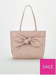 43fef7f42ba1 Ted Baker Soft Knot Detail Shopper - Pale Pink