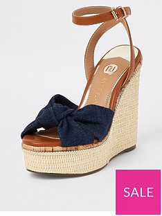 332f6c2763 Blue | River island | Shoes & boots | Women | www.very.co.uk