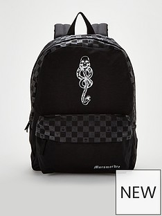 b0e5e38f31 Vans Harry Potter Dark Mark Backpack - Black