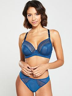 cleo-by-panache-lace-panellednbspbrazillian-brief-petrol