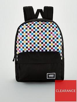 vans-glitter-check-realm-backpack-black