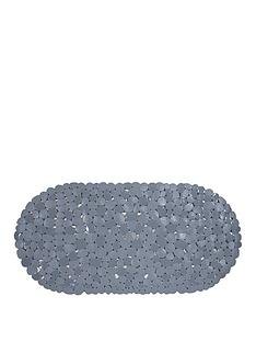 aqualona-pebbles-grey-safety-bath-mat