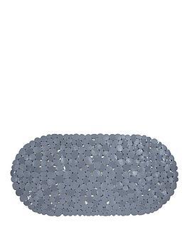 aqualona-pebbles-grey-safety-bath-mat