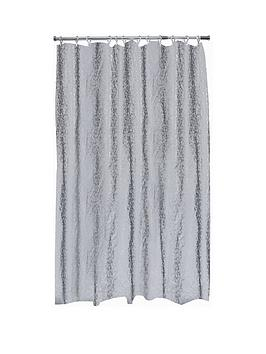 aqualona-bubbles-grey-soft-peva-shower-curtain