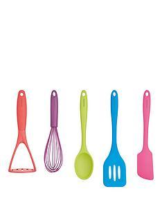 colourworks-5-piece-silicone-utensil-set