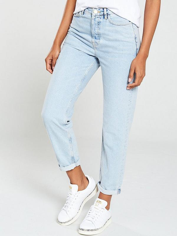 4781487d71 V by Very Mom Jean - Bleach Wash | very.co.uk