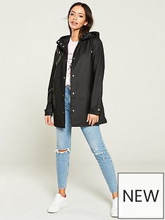 3456a557bc River Island Raincoat- Black