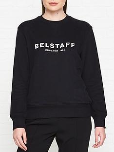 belstaff-1924-logonbspsweatshirt-black