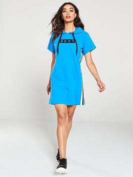 dkny-sport-embroidered-logo-sweater-dress-blue