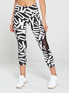 dkny-sport-logo-and-mesh-legging-blackwhite