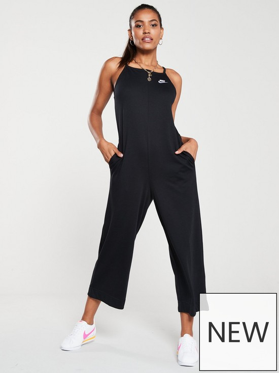 861af8c7ddc Nike NSW Jumpsuit - Black | very.co.uk