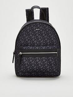dkny-casey-logo-backpack-black