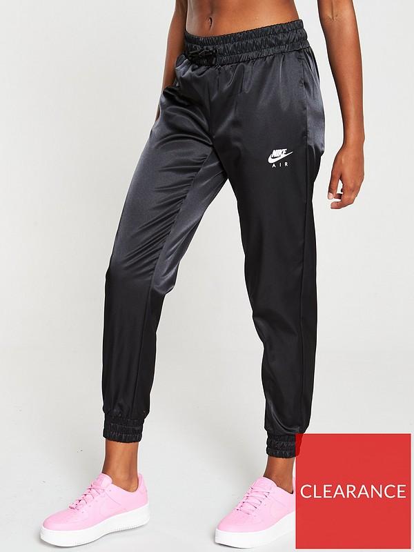 nike track pants in satin