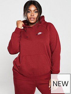 nike-nsw-essential-oth-hoodie-curve-red