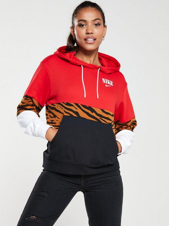 f5bfd20fb4 NSW Essential Panel Oth Hoodie - Red