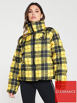 nike-nsw-plaid-jacket-yellownbsp