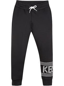 kenzo-boys-leg-logo-jogger-pants-black