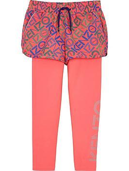 kenzo-aktion-girls-active-logo-shorts-amp-leggings-pink
