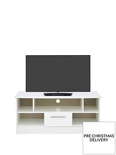 SWIFT Palma Ready Assembled High Gloss TV Unit - fits up to 42 inch TV