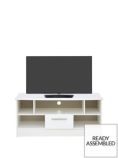 SWIFT PalmaReady Assembled High Gloss TV Unit - fits up to 42 inch TV
