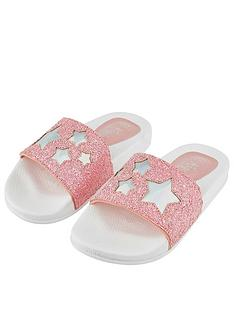 accessorize-girlsnbspglitter-star-sliders-pink