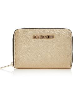 love-moschino-small-zip-around-purse-gold