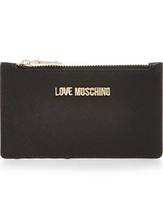 love-moschino-zip-top-logo-card-casenbsp--black