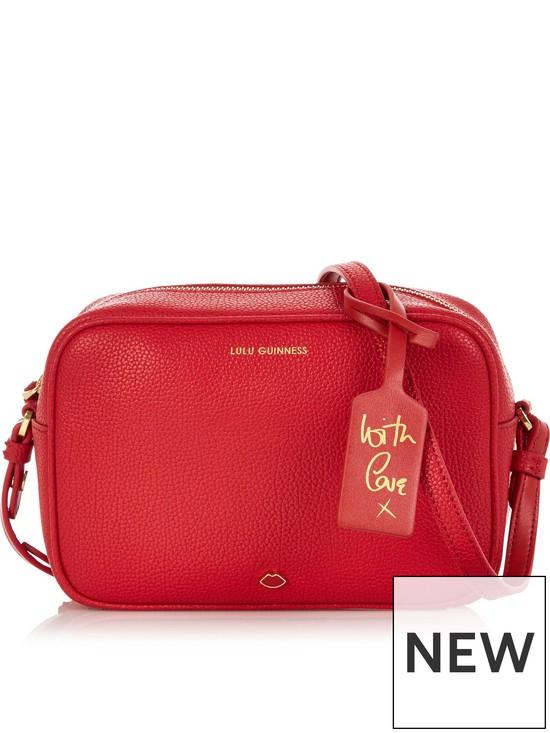 31b4e1488e7 Patsy Camera Cross-Body Bag - Red