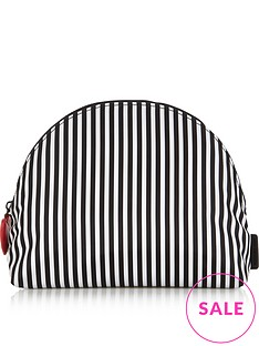 lulu-guinness-crescent-stripe-pouch-blackwhite