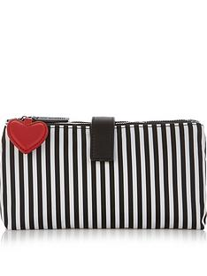 lulu-guinness-double-pocket-stripe-make-up-bag-blackwhite
