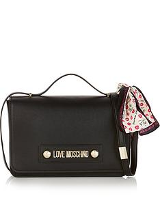 love-moschino-flap-over-cross-body-bag-black