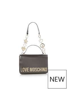 love-moschino-flap-over-charm-strap-shoulder-bag-gunmetal