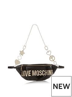 love-moschino-logo-charm-belt-bum-bag-black