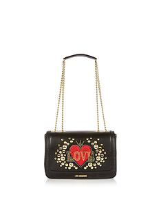 love-moschino-heart-and-button-detail-shoulder-bag-black