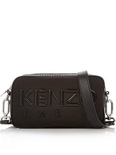 kenzo-paris-nylon-cross-body-bag-black